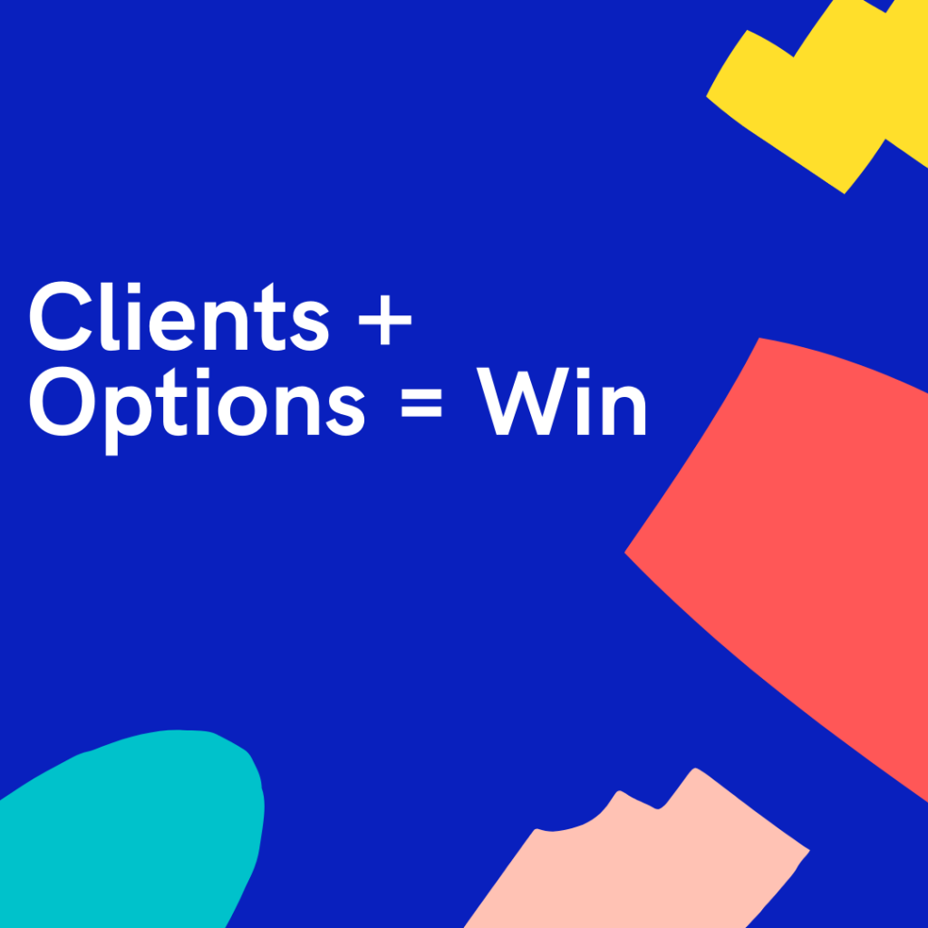 Clients Options Banner