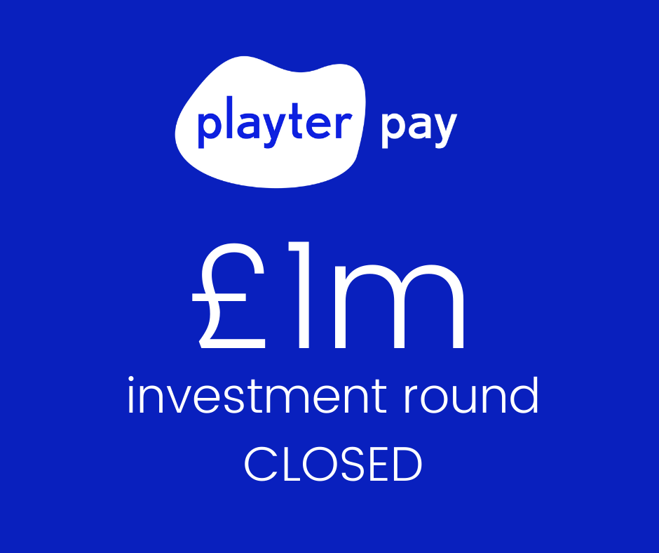 Playter banner - Investment round closed